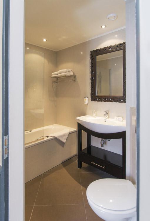 Vierbettzimmer Hotel Nicolaas Amsterdam Zentrum